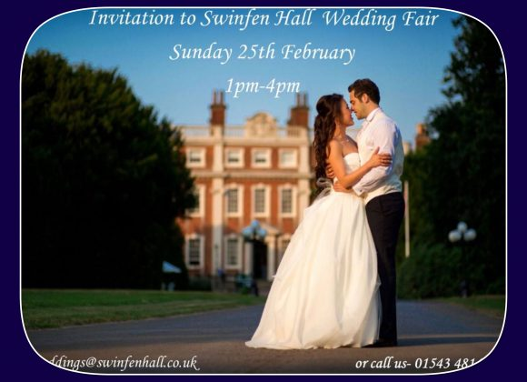 Wedding Fair – Sunday 25th Feb 2018