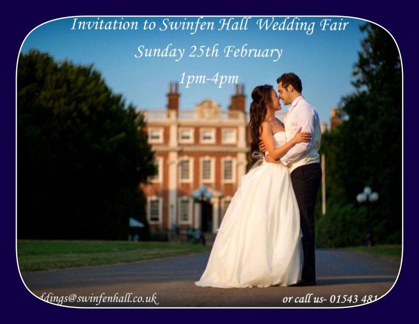 Wedding Fair – Sunday 25th Feb 2018