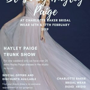 Hayley Paige Designer Weekend